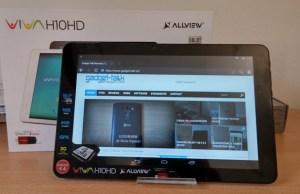 Despachetare Allview Viva H10 HD