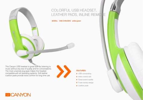 canyon accesorii de sarbatori casti headset 1