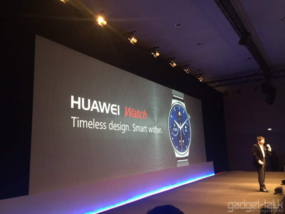 Huawei Watch anuntat la MWC