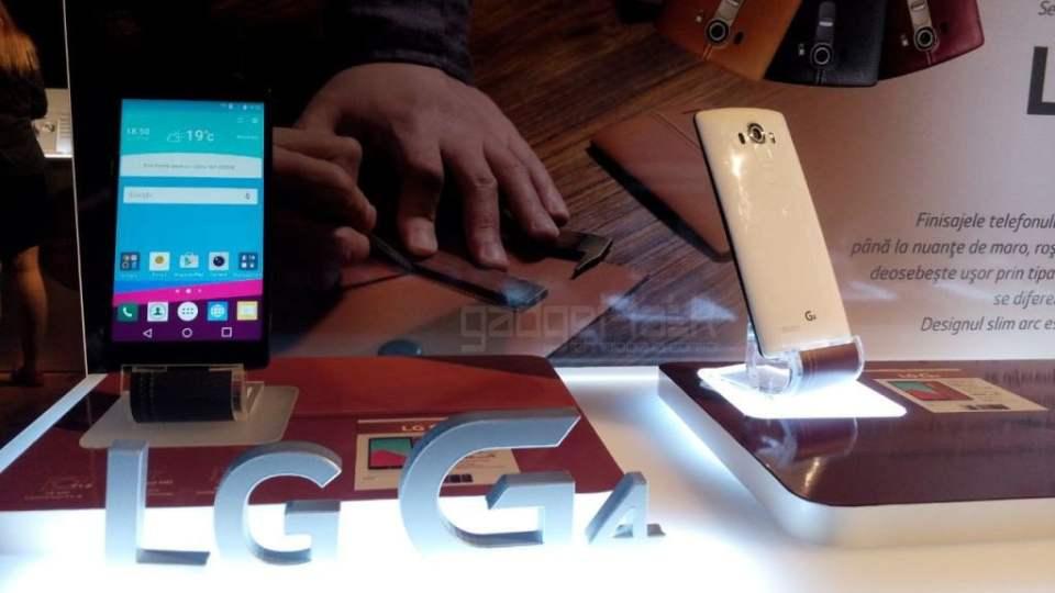 LG G4 oficial lansat pe piata romaneasca