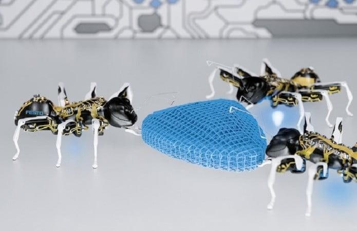 Furnicile robotice