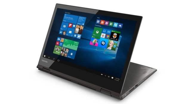 Toshiba Satellite Radius 12 este un laptop convertibil cu ecran 4K