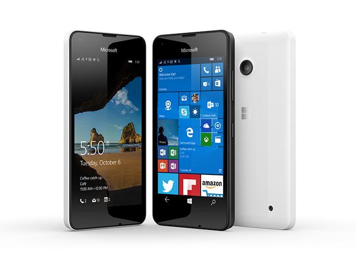 Microsoft anunta Lumia 550