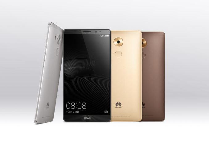 Mate 8 lansat de Huawei in China