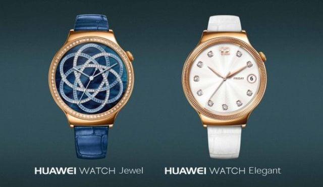 Huawei Watch Jewel si Watch Elegant