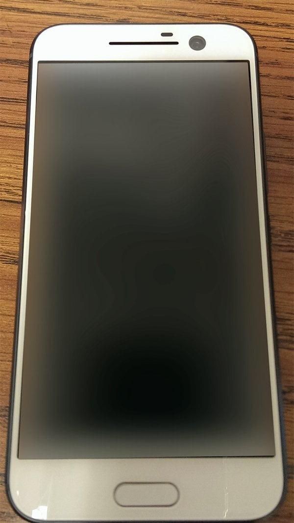 Fata telefonului HTC One M10 Alb
