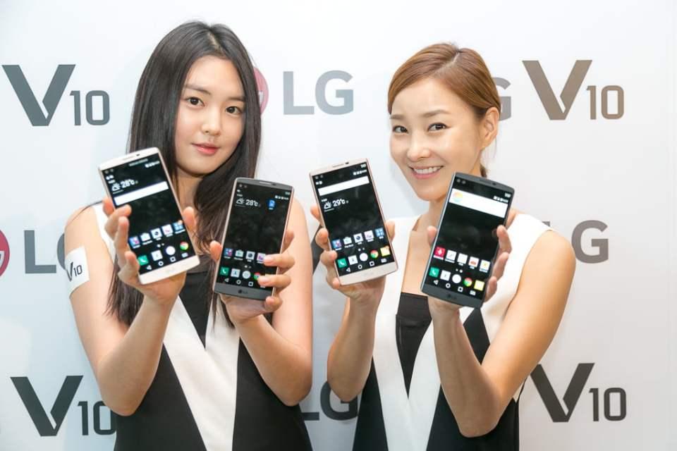 LG Romania anunta lansarea telefonului LG V10