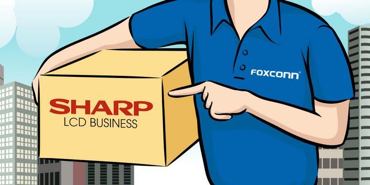 Foxconn cumpara Sharp