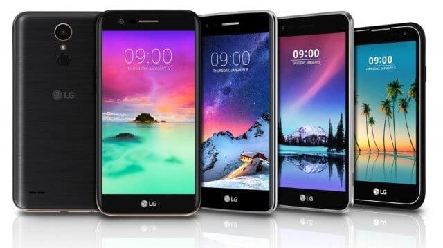 LG Electronics lanseaza telefoane din seria K 2017