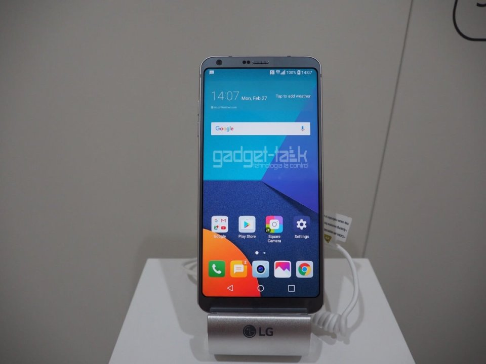 LG G6 primeste software update Oreo