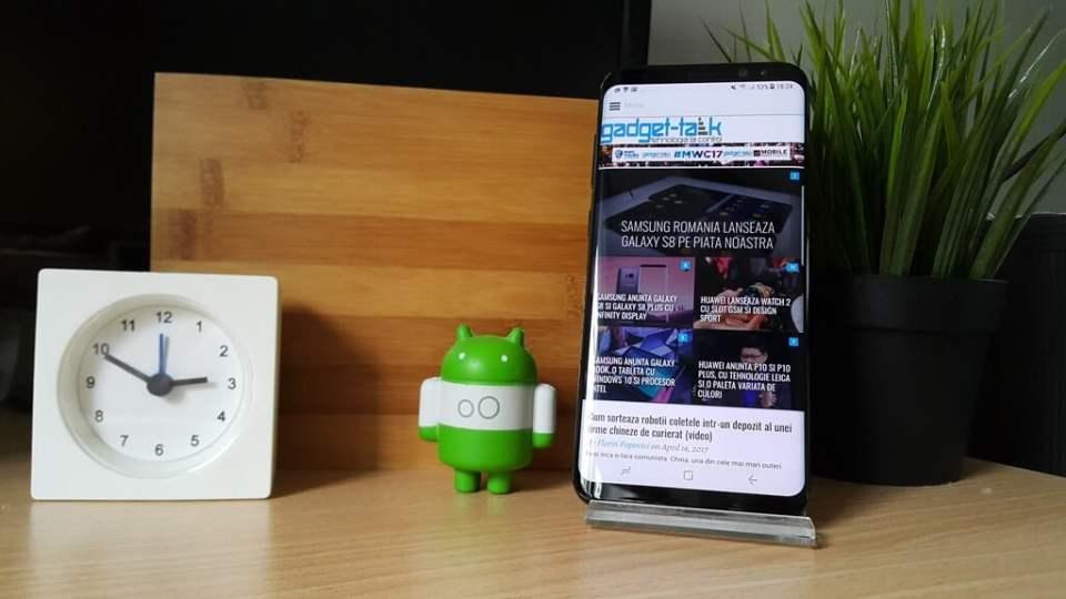 Samsung anunta disponibilitatea telefoanelor Galaxy S8