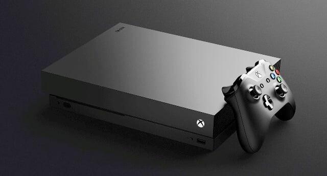Microsoft lanseaza consola Xbox One X