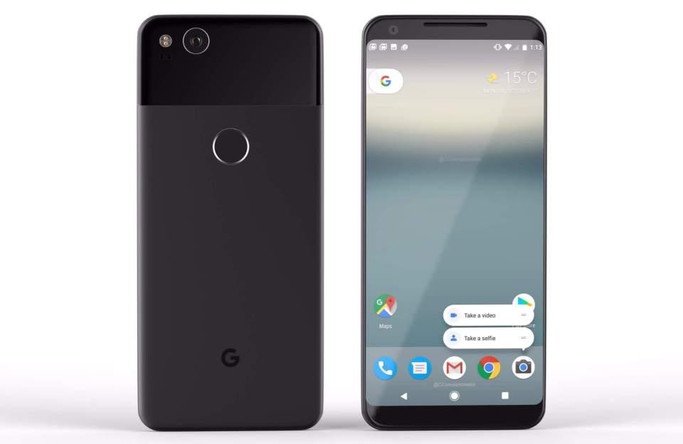 Specificatiile telefoanelor Google Pixel 2