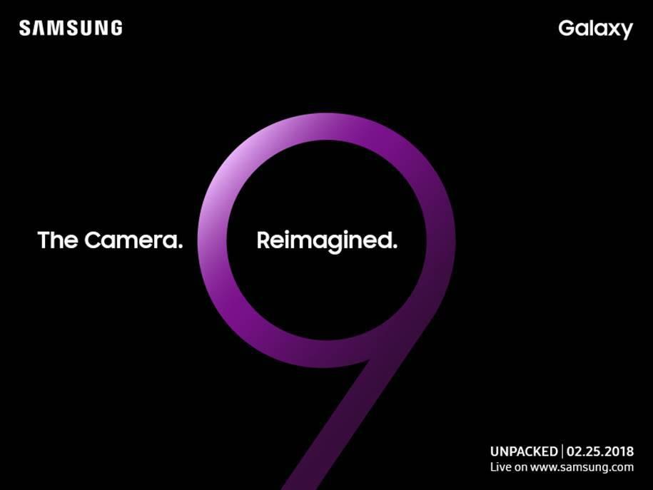 lansarea telefonului Galaxy S9