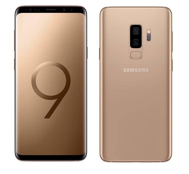 Galaxy S9 Gold