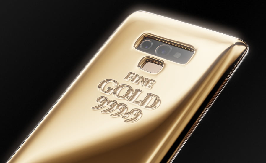 Galaxy Note 9 Fine Gold Edition