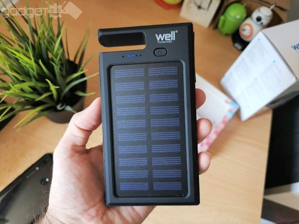 Powerbank solar Well Dynamic80