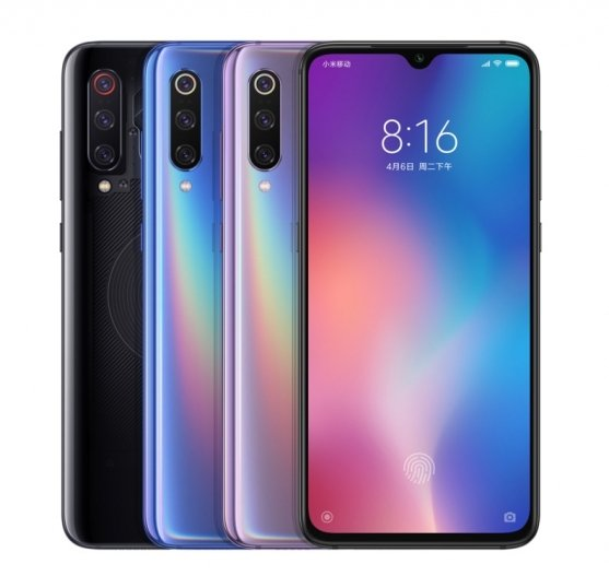 Xiaomi anunta Mi 9
