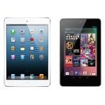 Nexus7 VS iPad タイブレットUI対決
