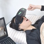 サンコー、寝ながらゲームやスマホ動画視聴できる「ウェアラブルHDMIモニター」を発売