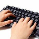 PCのキーボードを見ずに打てるやつこい!!!