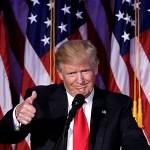 トランプ大統領「自分はシャープのファンだ。シャープ製品には大きな期待を持っている」