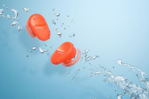 ソニー、接続安定性が向上した防水ワイヤレスイヤホン「WF-SP800N」を発表