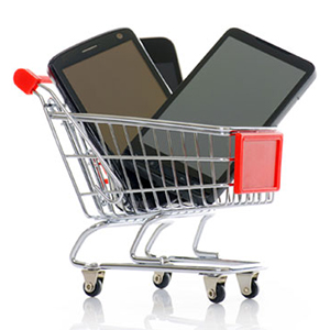 smartphone-shopping-cart