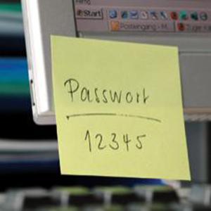 security-password-postit