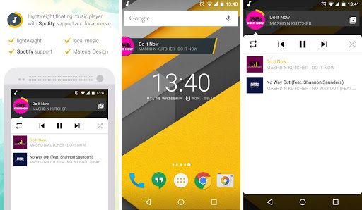 Top 5 Android Apps - Bump Music Player