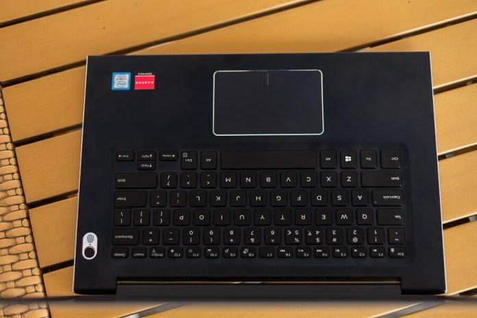 Dell Vostro 5471 bàn phím và trackpad