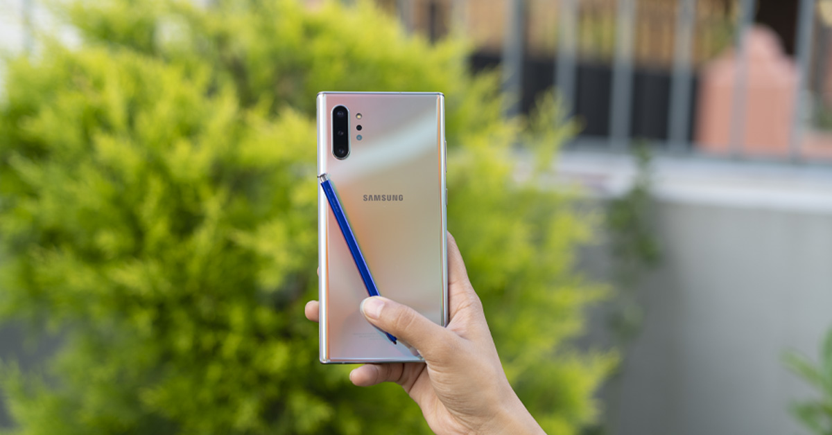 Samsung Galaxy Note 10 Plus Review Big Bold And Noteworthy