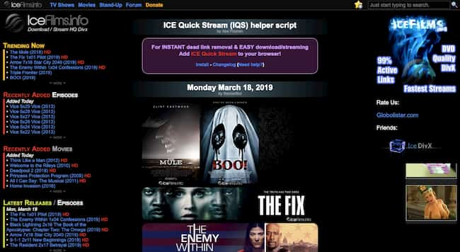 IceFilms-info - Download or Watch Quality TV & Movies