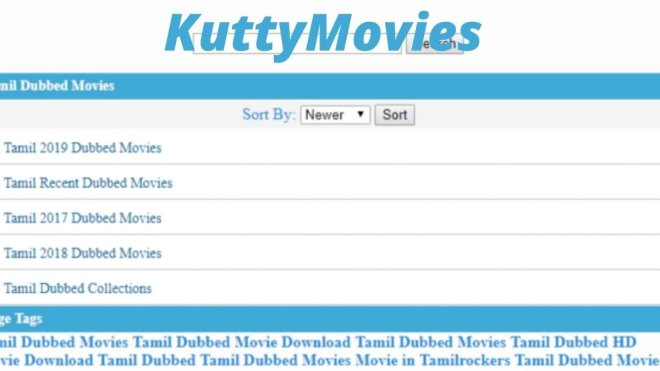 Download Kuttymovies HD Tamil Movies, Latest Kutty Movies Collections and Kuttymovies Website News