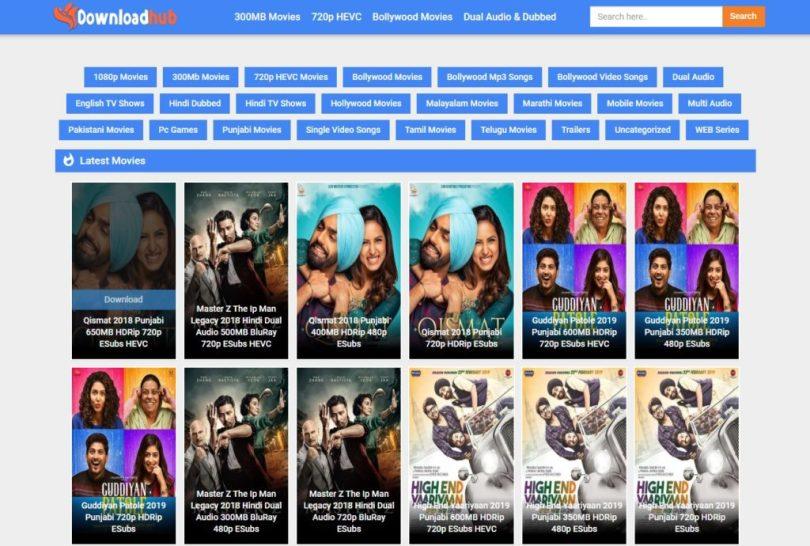DownloadHub 2021: DownloadHub website Movies News HD Movies Download Website (July 2021)