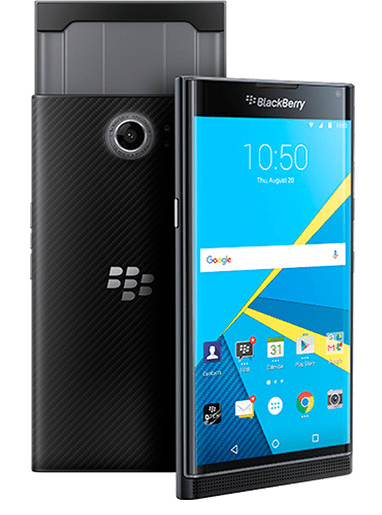 BlackBerry Priv Android-based secure smartphone