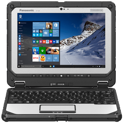 Panasonic Toughbook 20 detachable laptop