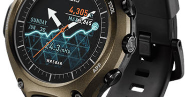 Casio WSD-F10 smartwatch