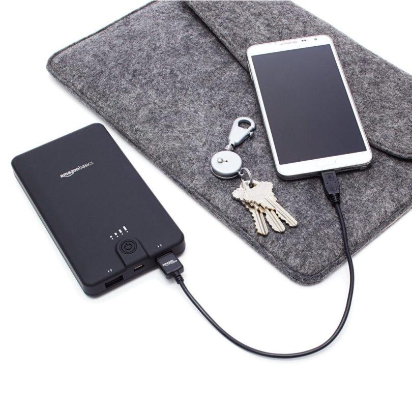 AmazonBasics Portable External Battery Charger