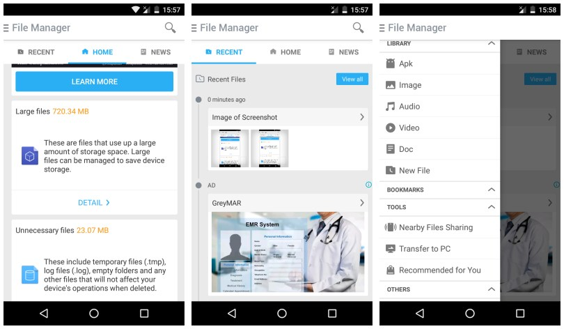 File Manager File Transfer app for Android