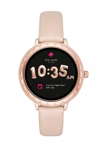Kate Spade Scallop Touchscreen smartwatch for women