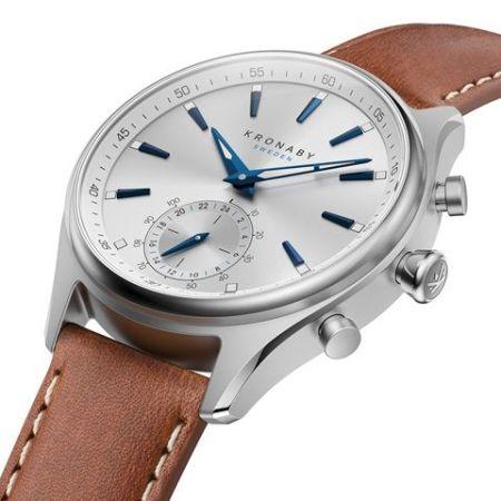 Kronaby Sekel premium hybrid smartwatch