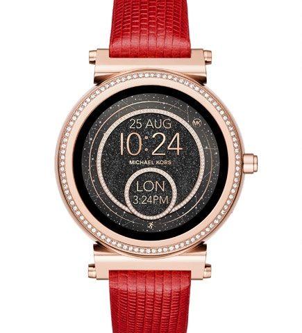 cfe62500bd71 Michael Kors Access Sofie smartwatch for women. Michael Kors women s line  of smartwatches ...