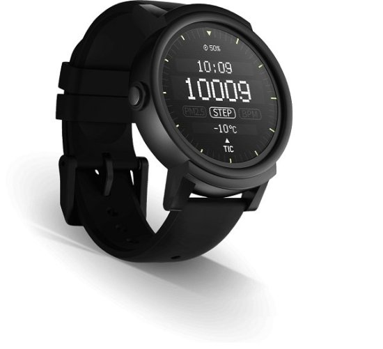 Tickwatch E Cheap Android Wear smartwatch