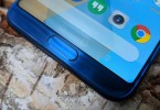 Huawei Honor View 10 home button and front fingerprint sensor on hands on review