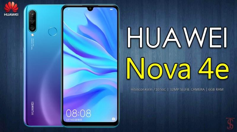 huawei nova 4e, huawei