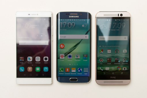 Huawei P8, Samsung Galaxy S6, HTC One M9