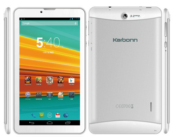 Karbonn ST72 Tablet Specifications price in India