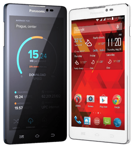 Panasonic P55 phablet launched for Rupees 10290