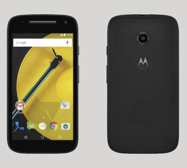 Moto E 2nd Gen images with Android Lollipop leaked
